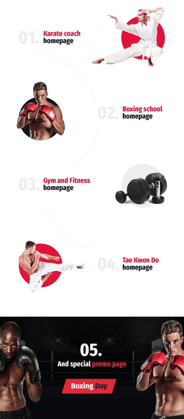 ArtKombat - Boxing School and Martial Arts WordPress Theme - 5
